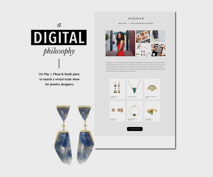 Metal + Smith Introduces Virtual Trade Shows to the Jewelry Industry