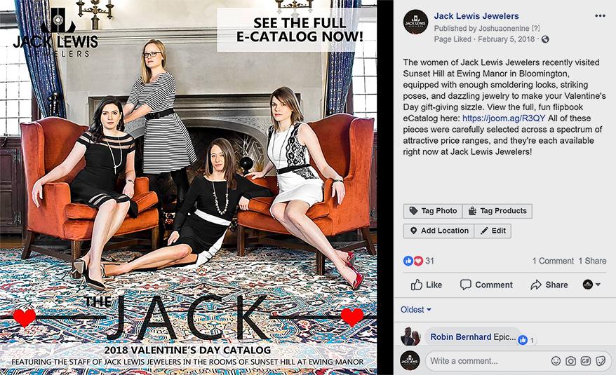 Jack Lewis Jewelers on Facebook