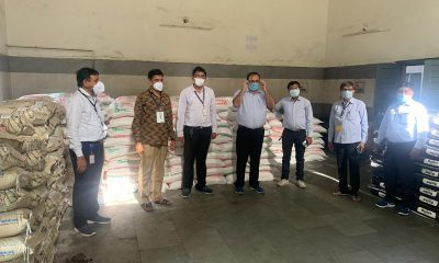 SRK Donates Around 55 Tons of Food Materials