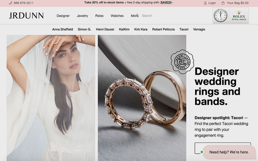 Jewelers Focus on E-Commerce for Flexibility