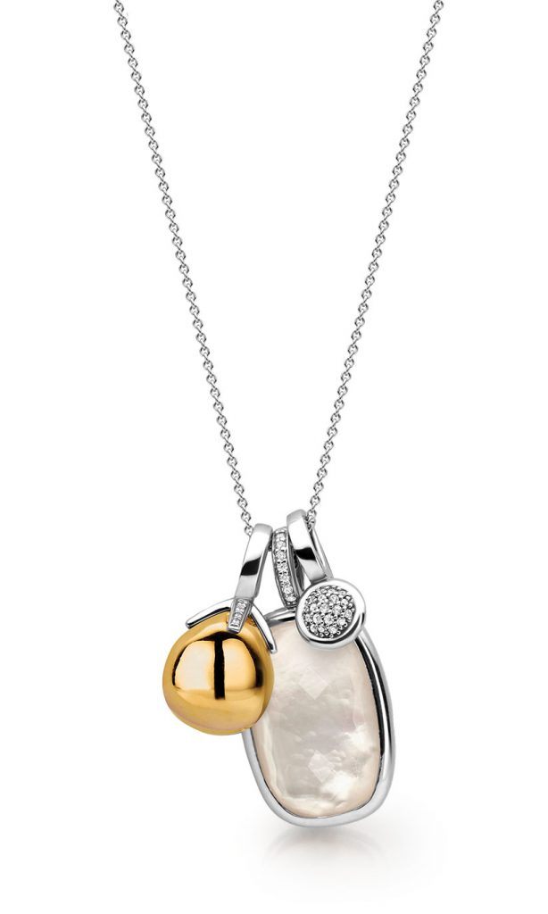 Ti sento-Milano mix and match charm necklace