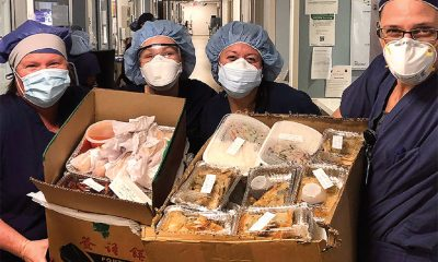 London Jewelers donate meals to NY City hospital staff