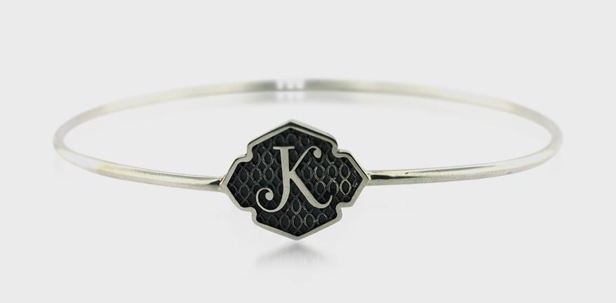 Aimee Kennedy Sterling silver bracelet