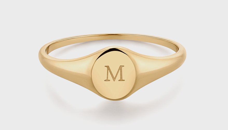 Aurelie Gi 14K yellow gold ring