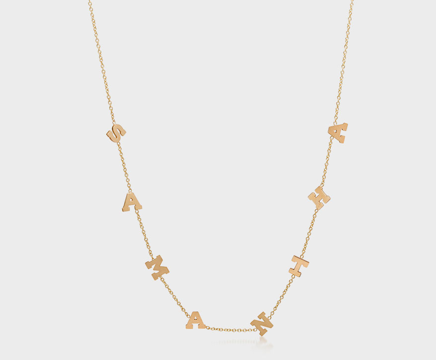 Zoe Chicco 14K yellow gold necklace