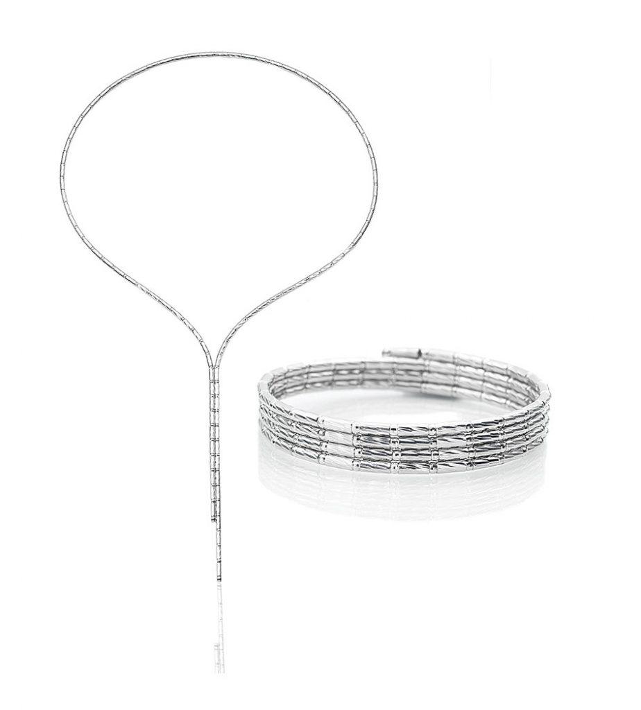 Platinum Born magnetic necklace