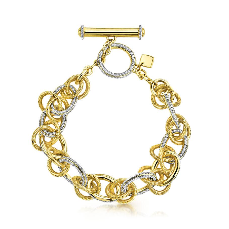 Sloane Street By Gadbois Jewelry signature link bracelet