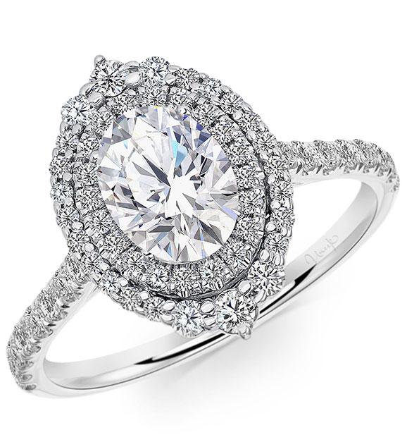 Uneek Jewelry Hope Petal ring