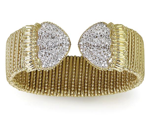 Vahan Jewelry 14K gold bracelet with diamonds