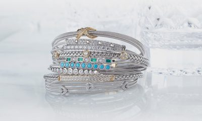 Bella Cavo by Kelly Waters flexible and stackable sterling silver bracelets