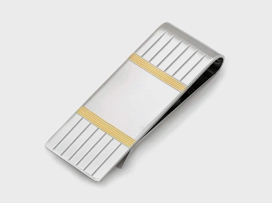 sterling silver money clip from Legère by Kelly Waters