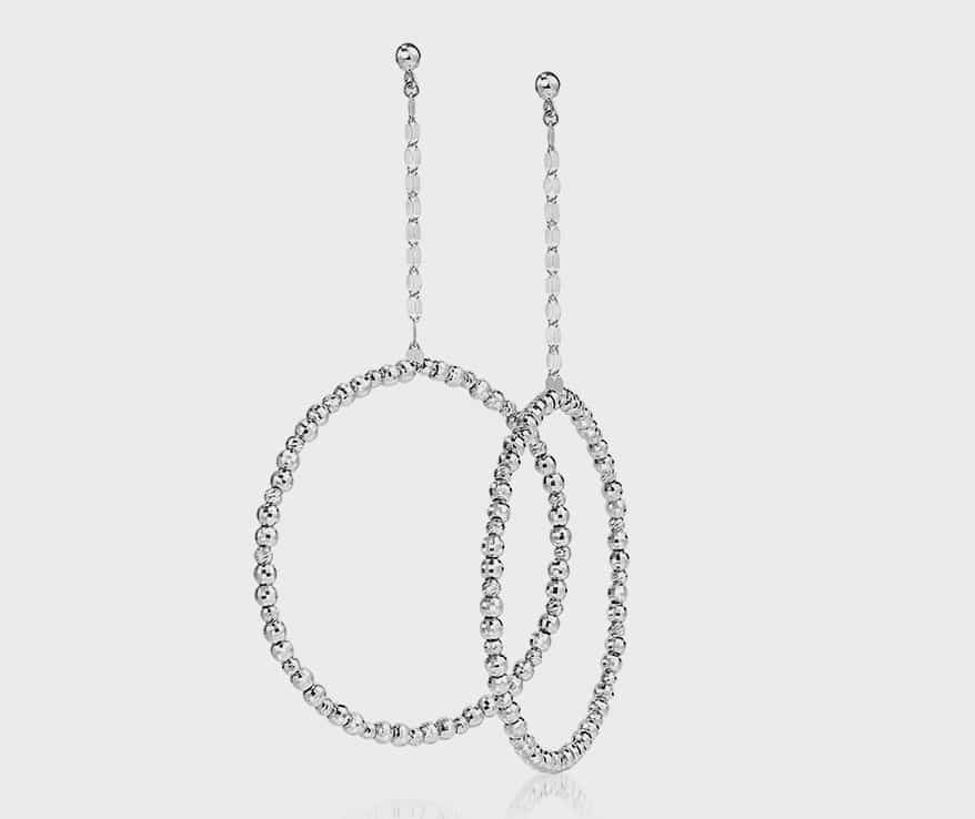 Platinum Born earrings