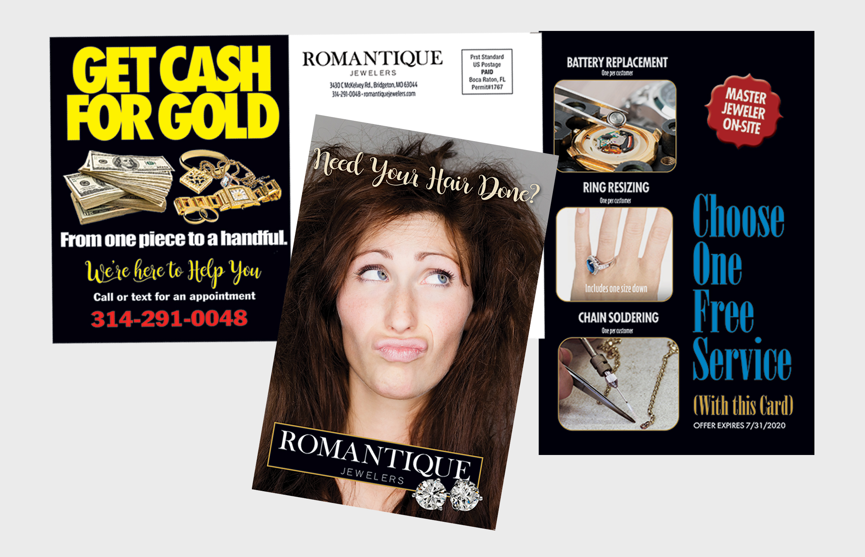 Romantique Jewelers marketing