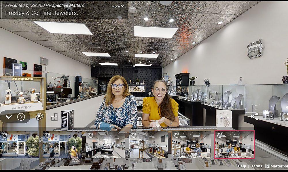 Presley & Co. Fine Jewelry 3D virtual floor
