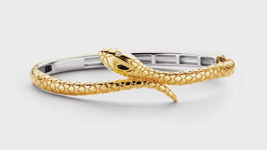 TI SENTO – Milano 18K yellow gold-plated sterling silver bracelet