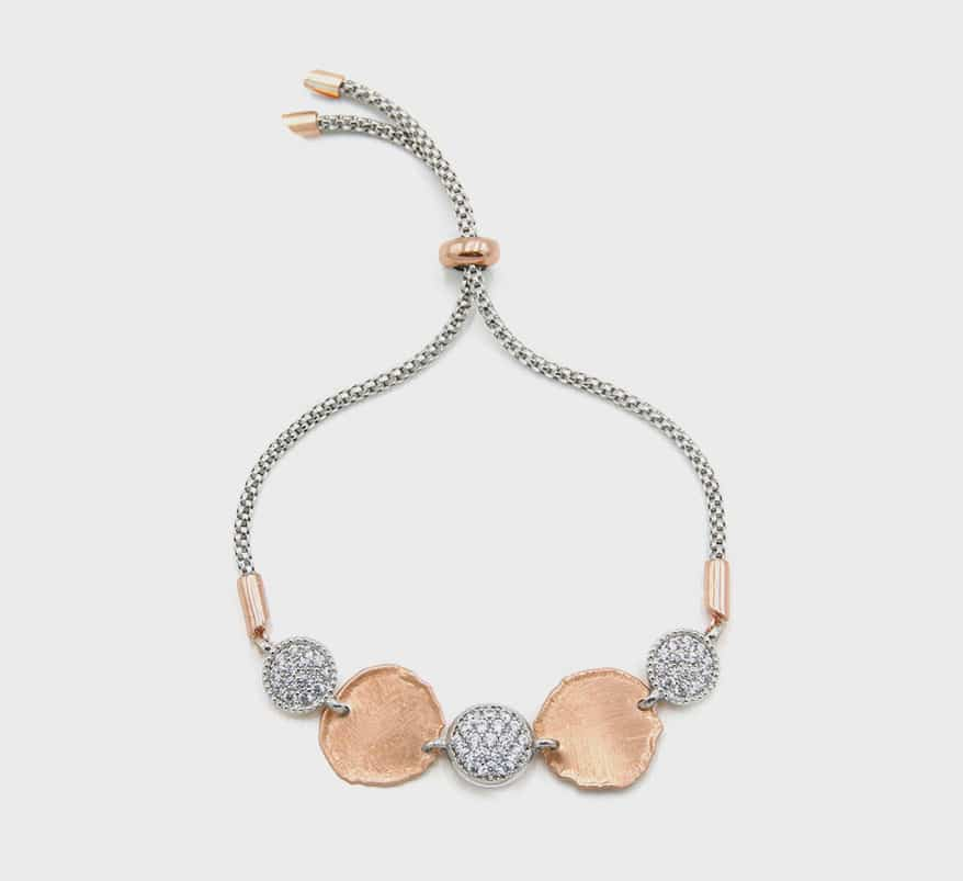 The Henderson Collection sterling silver chain bracelet