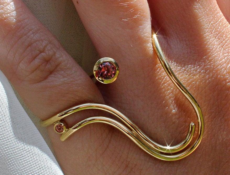 """Befitting"" Ring by Kyra Martin"