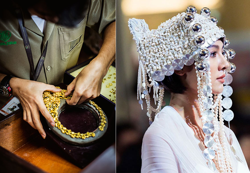 Photo Courtesy: Pranda Jewelry Group (Left)/ Jiira Silver Jewelry (Right)