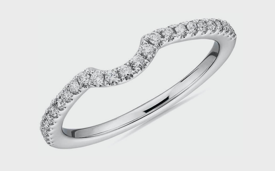 Platinum ring from Blue Nile