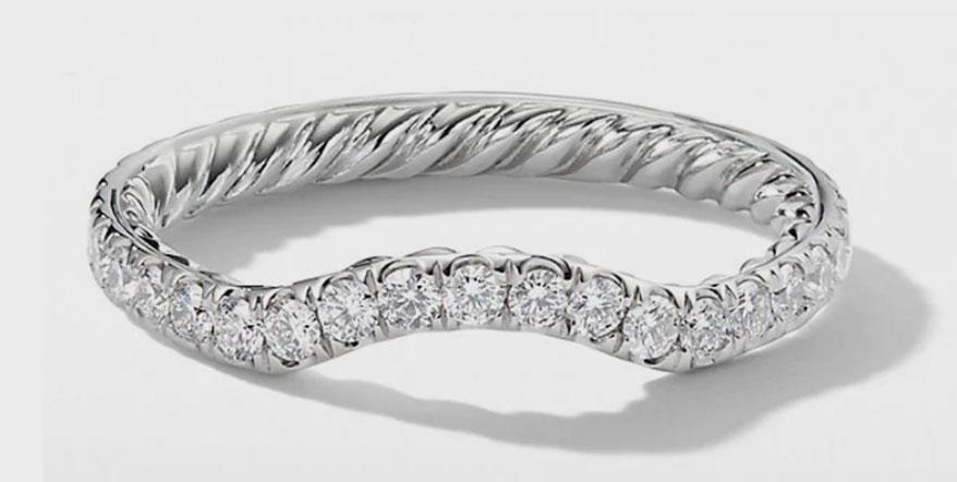 Platinum ring from David Yurman