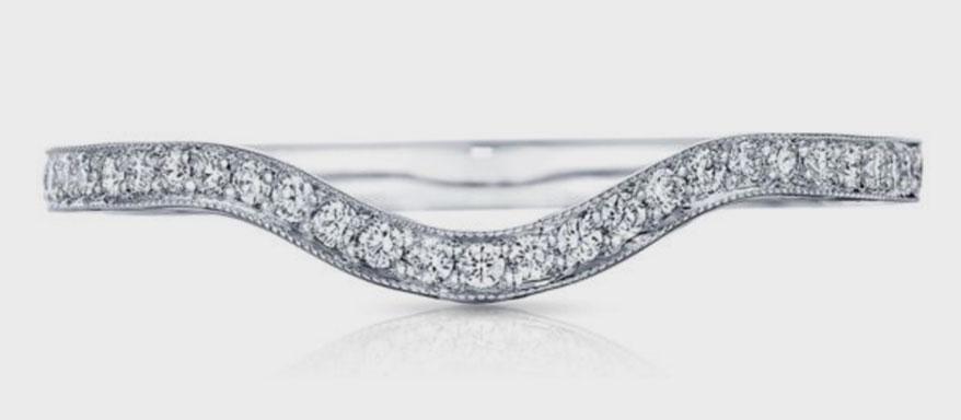 Platinum ring from Tacori