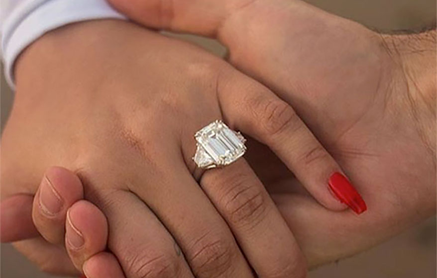 Demi Lovato engagement ring