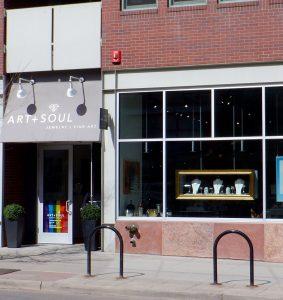 Art + Soul store front