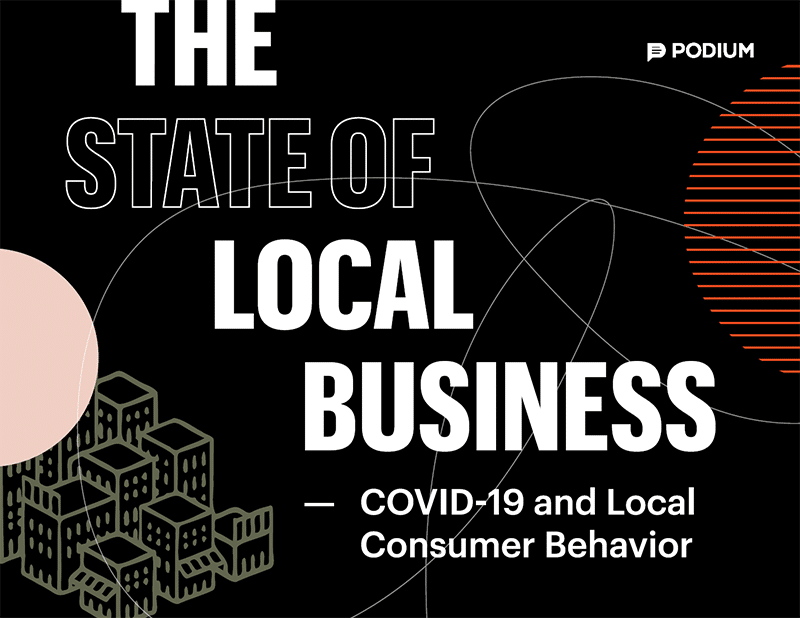 "Podium's 2020 ""State of Local Business"" Report Identifies New Consumer Expectations for Retail Survival in a Post-covid World"