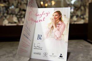 Hayley Paige Event invitation