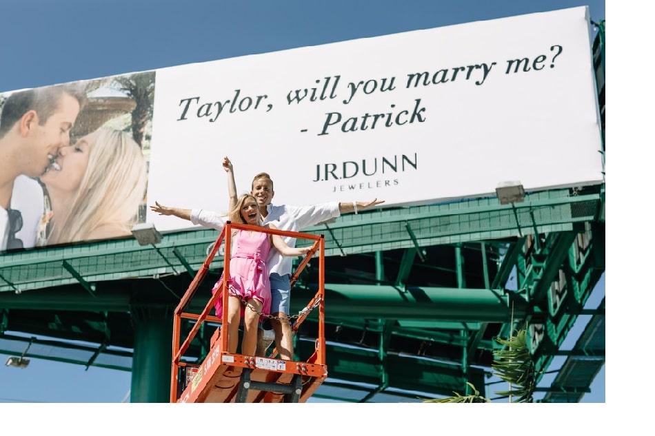 J.R. Dunn engagement proposal