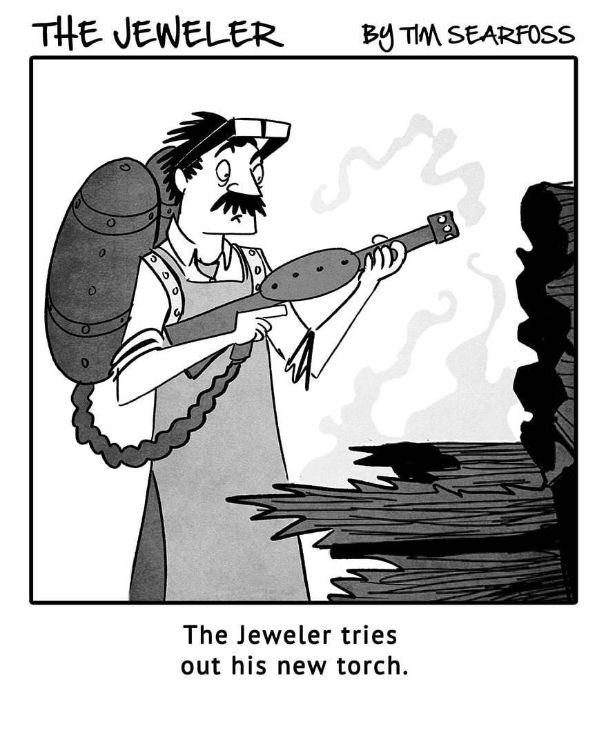 The jeweler INSTORE