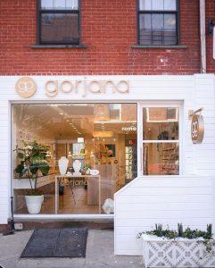 Gorjana in Brooklyn store front