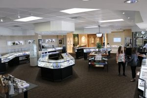 Jack Lewis Jewelers interior