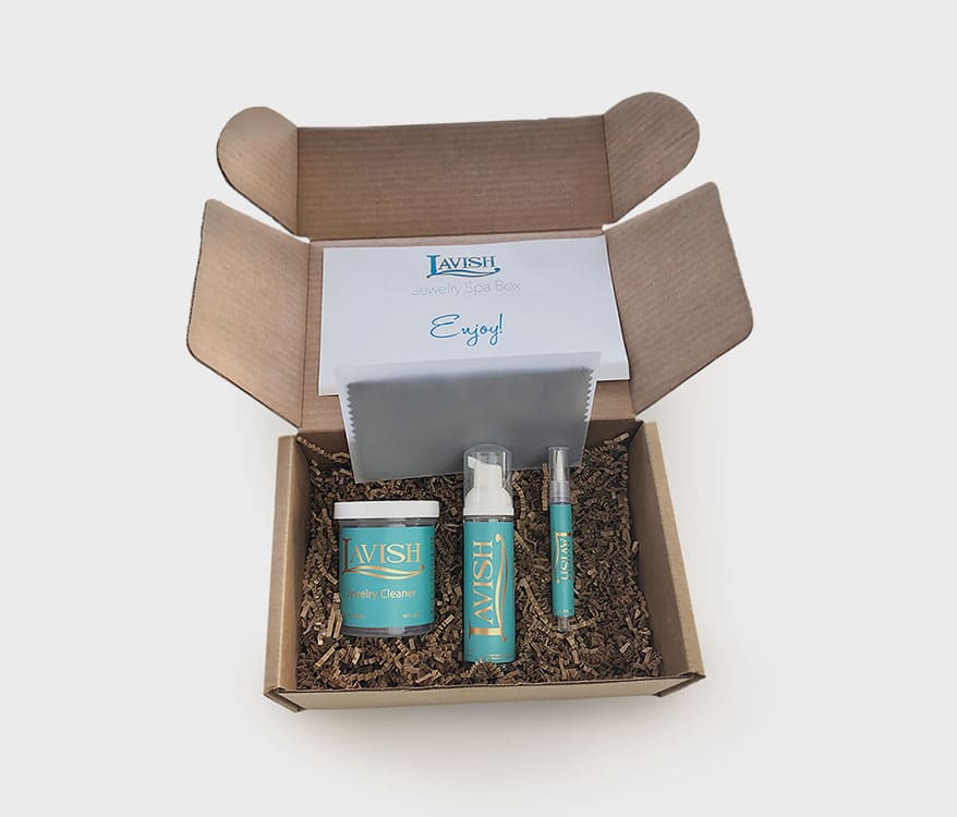 Spa Box from vish Jewelry Cleaner