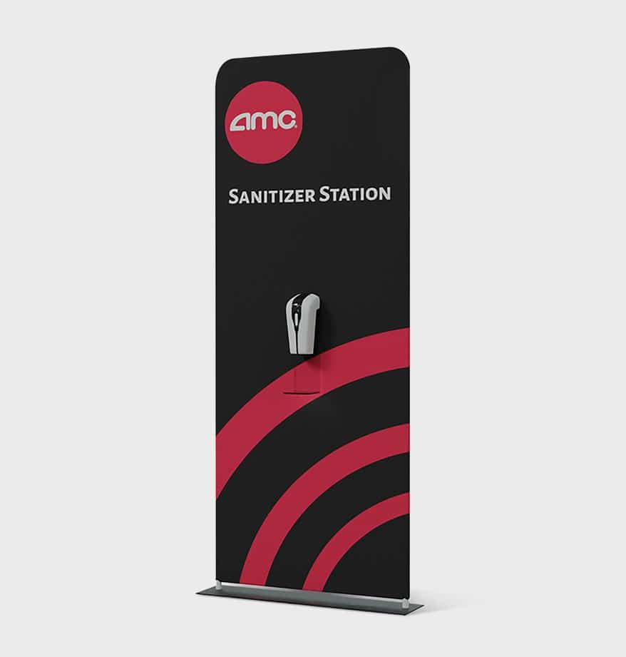 sanitizer station