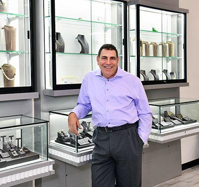 Stuart Benjamin in brand new store