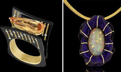 Topaz Deco and Le Mystere in black background