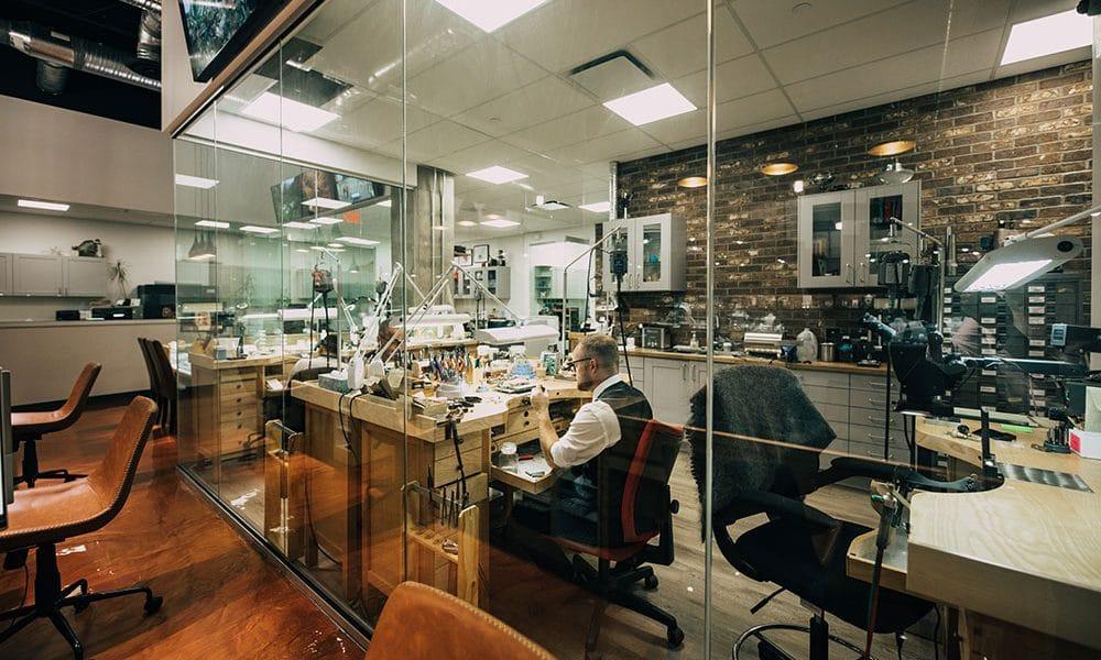 Workshop at Vandenbergs Jewellers
