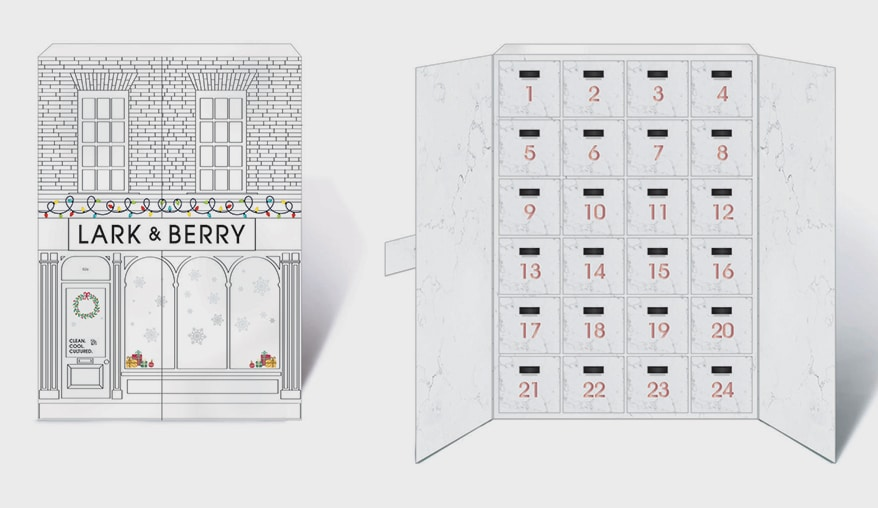 Lark & Berry advent box
