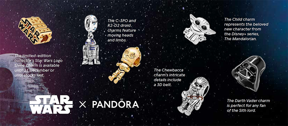 Pandora Star Wars collection