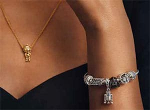The Star Wars Logo Snake Chain Bracelet is the ideal vehicle for the new charms.
