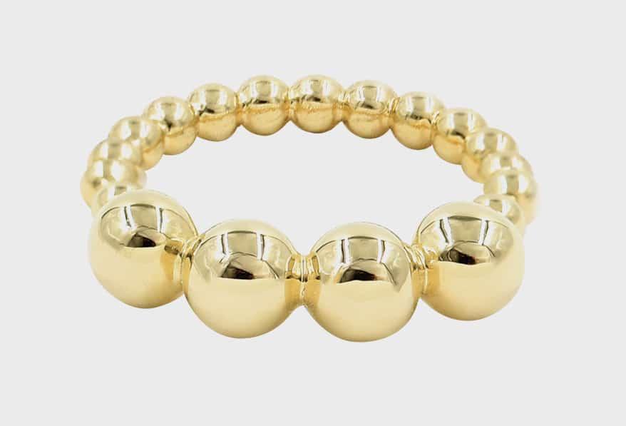 Bondeye Jewelry 14K yellow gold ring