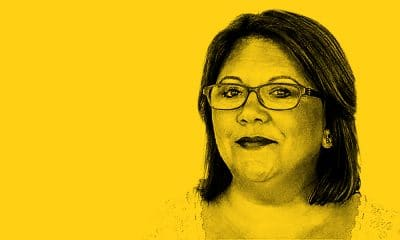 Andrea Hill yellow mugshot