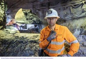 Argyle underground mine manager Brendan Murphy