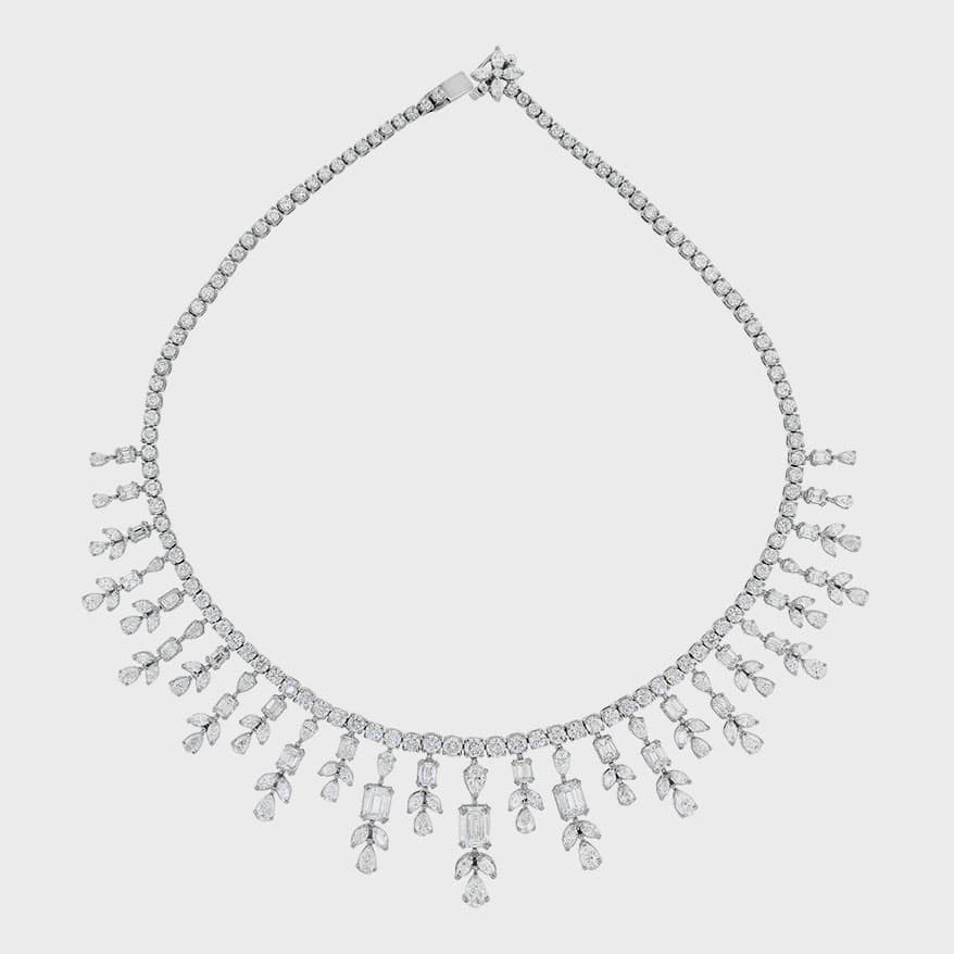 Beauvince Michelle Diamond Necklace