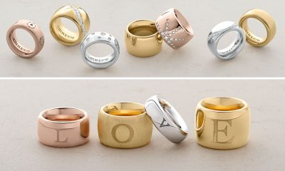 Chimento gold rings