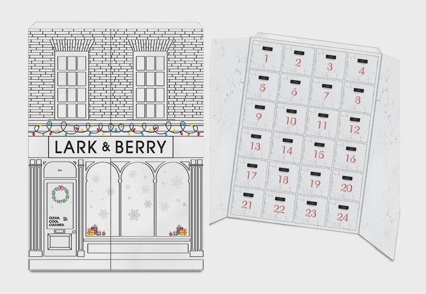 Lark & Berry 24-day advent calendar