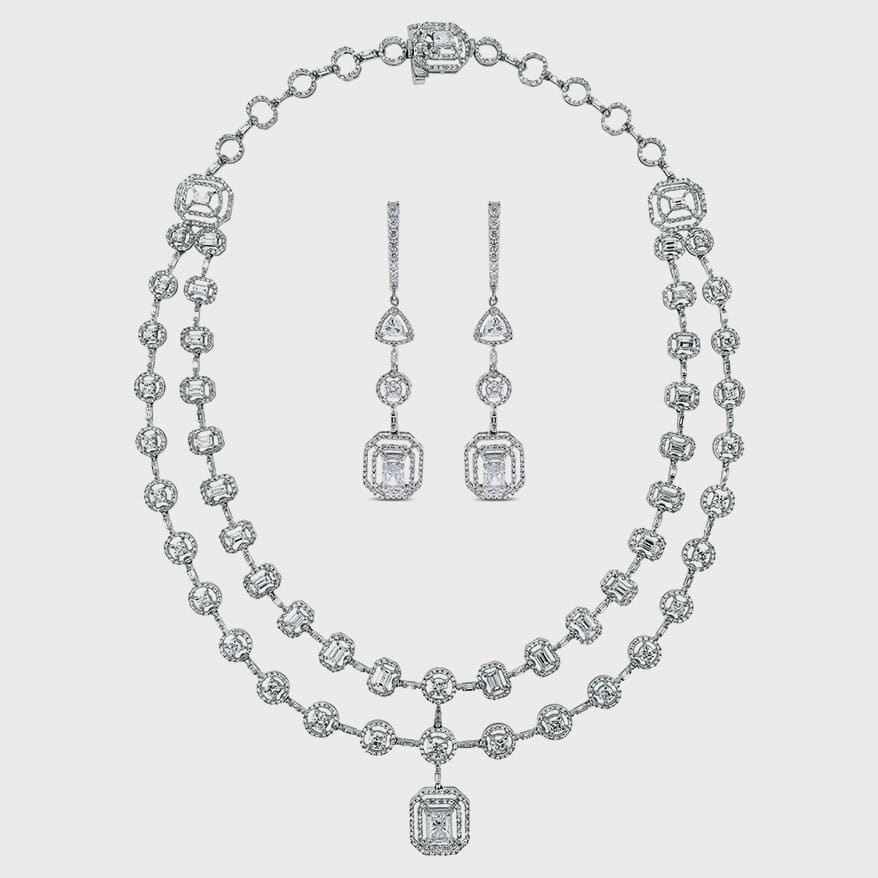 Beauvince Sansa Solitaire Diamond Suite