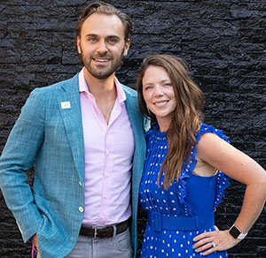 Jared Silver and Amy Dornbusch