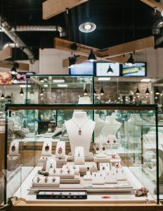 Vandenbergs Jewellers interior